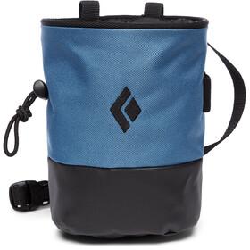Black Diamond Mojo Zip Chalk Bag S/M, blauw/zwart